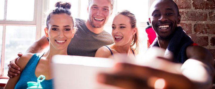 Como usar as mídias sociais com sua rotina de ginástica